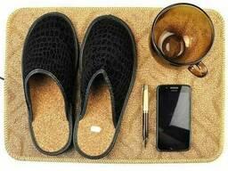 Коврик из ковролина с подогревом для сушки обуви и. ..