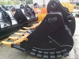 Ковш скальный 1. 65 куба для экскаватора Hyundai R290, 300, 305
