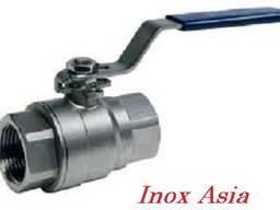 Кран шаровой AISI 304/316, ISO (из 2-х частей)