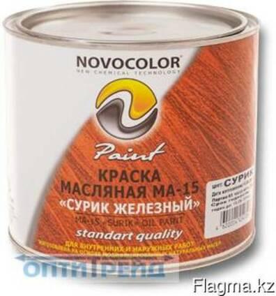 Краска МА-15 сурик железный красно-коричневый банка 2.6 кг