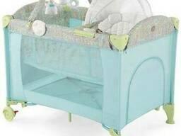 Кровать-манеж Happy Baby Lagoon V2 Blue