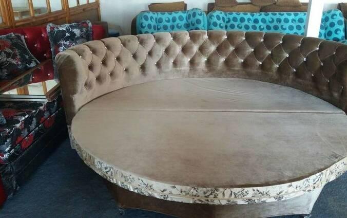 круглый диван кровать цена фото где купить алматы Flagmakz 2071426