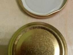 Крышка винтовая (твист-офф), 82-я и 58-я. цвет - золото.