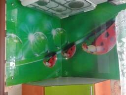 Кухонные фартуки из стекла с фотопечатью в Петропавловске. - фото 2