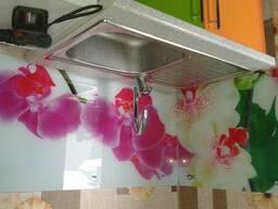 Кухонные фартуки из стекла с фотопечатью в Петропавловске. - фото 3