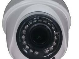 Купольная IP камера, 1, 3MP, (960P), с ночным видением 25 м