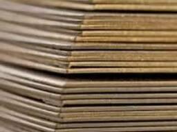 Латунный лист Л63, Л68, Л80, Л90, ЛС59-1, ЛМц58-2