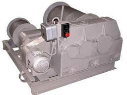Лебедка электрическая ТЛ-8Б (маневровая, двухбарабанная)