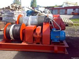Лебедка тяговая электрическая ТЭЛ-8Б с тросомм