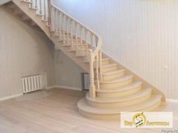 Лестница деревянная - фото 2
