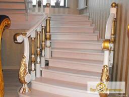 Лестница деревянная - фото 3