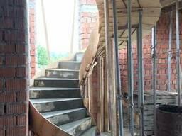 Лестницы из монолитного железобетона - фото 3