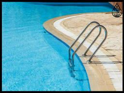 Лестницы на бортные для бассейна