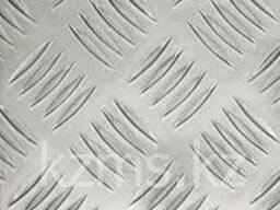 Лист стальной рифленый Ст3сп Ст3пс чечевица 4 мм