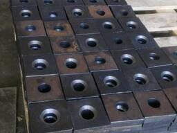 Литая анкерная плита 16 мм 09Г2С ГОСТ 24379. 1-80