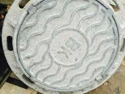 Люк чугунный канализационный Тип С