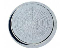 Люк канализационный чугунный тип-Л круглый