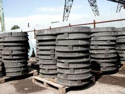 Люка канализационные полимерно-песчанные тип С (15тонн)
