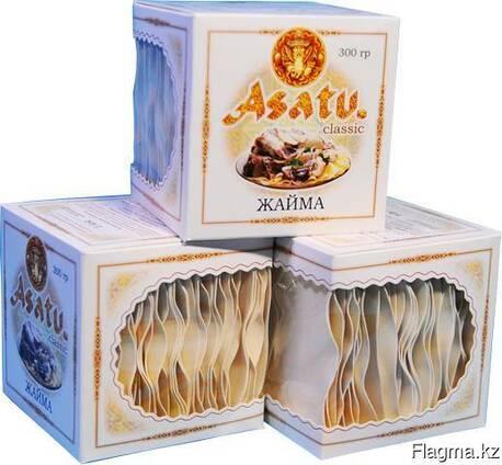 Макаронные изделия жайма «ASATU. kz» 300 гр