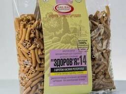 """Макароны """"Здоровье"""" из твердых сортов пшеницы с добавками"""
