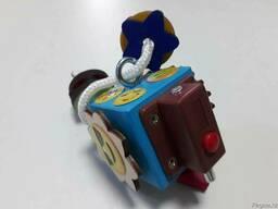 Маленький бизикубик /мини бизикуб /мини/Ручная работа/Подаро - фото 3