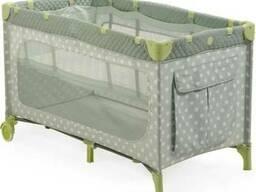 Манеж-кровать Happy Baby Martin Beige