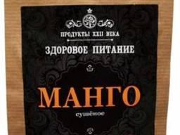 Манго, сушеное (Продукты XXII века) (100 гр)