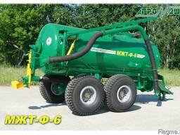 Машина для внесения жидких органических удобрений МЖТ-Ф-6 пр