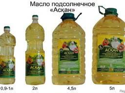 Масла подсолнечное пр-во г. Усть-Каменогорск