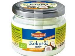 Масло кокосовое нерафинированное холодного отжима оптом