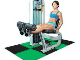 Маты - пазлы для фитнеса и тренажеров