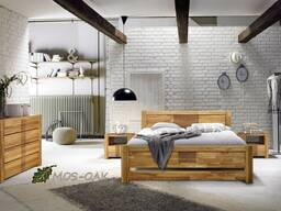 Мебель из массива дуба в скандинавском стиле
