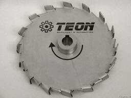 Мешалка дисковая мелкозубая для производства ЛКМ 250мм