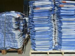 Мешки бумажные армированные нитью от производителя.