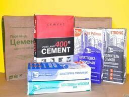 Мешки бумажные под сухие смеси, цемент