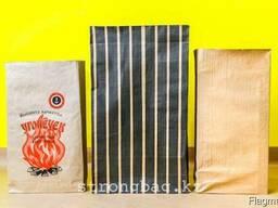 Мешки бумажные армированные для угля каменного, древесного