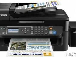 МФУ Epson L566 фабрика печати, факс, Wi-Fi