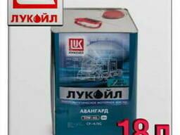 Минеральное моторное масло лукойл авангард ультра 5w40 18л