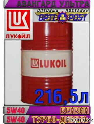 Минеральное моторное масло лукойл авангард ультра 5w40 216
