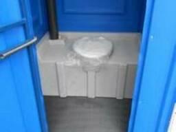 """Мобильная туалетная кабина """"Экономный евростандарт"""""""