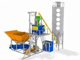 Мобильный бетонный завод на 30 м3/час