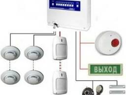 Монтаж и техническое обслуживание охранной сигнализации