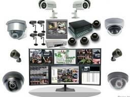 Монтаж видеонаблюдения, охрано-пожарной сигнализации. Актобе