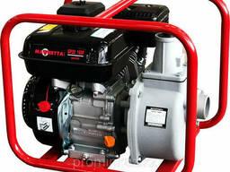 Мотопомпа бензиновая GP30-168F, D80мм, 30-55 м. куб/