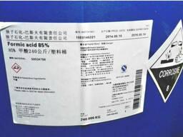 Муравьиная кислота 85%, 520 $ /т. Стандарт GB 2093-11, КНР.