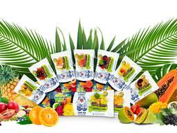Мякоть экзотических фруктов