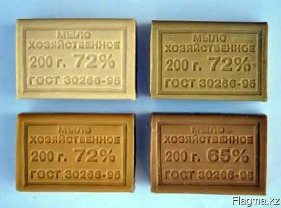 Мыло хозяйственное 72% ГОСТ 30266-95