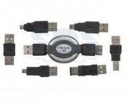 Набор USB 6 переходников удлинитель Rexant