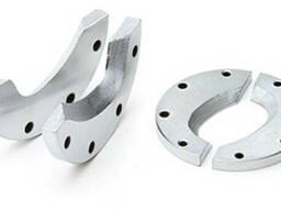 Наборы сменных лезвий НЛ (КВТ) для секторных ножниц НСТ-40 и