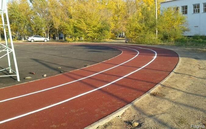 Тартановое покрытие для спортивных, детских площадок